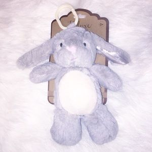 NWT Bunny Stuffed with Clip